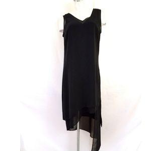 White House Black Market Size 14 Black Dress